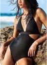 Halter Swimsuit Backless Praia Maiô Monokini Biquini