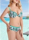 Costumi da bagno donna Plus Size Bikini Underwire Costume da bagno Beach Wear Two Piece