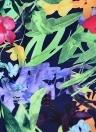 Mulheres Underwire Two Pieces Maiô Floral Print Drawstring Bikini Set Banho Swimwear