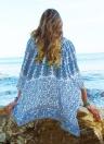 Frauen Chiffon Beach Kimono