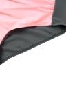 Sexy Frauen-Bikini-Set Kontrast-Farben-Block-Bügel-Halter Top High Waist Bottom Strand-Badebekleidung Badeanzug-Badeanzug