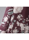 Mujeres Long Beach Cover Up Chifón Kimono