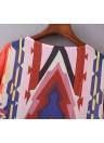 Frauen Casual Hippie Kimono Chiffonbluse