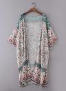 Mulheres casaco de quimono Chiffon
