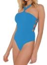 Sexy Swimwear Bathing Vintage  Bandage  One Piece Set
