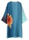 Frauen Chiffon Kimono Cardigan Beachwear