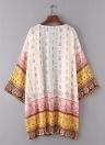 Fashion Summer Chiffon  Vintage Print  Boho Cardigan Loose Women's Kimono