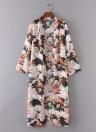 Sommer Chiffon Cardigan Bikini Cover bis gedruckt Boho lange Frauen Kimono