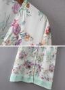 Frauen Chiffon lose Strickjacke beiläufige Oberbekleidung