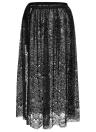 Frauen Strand Sarong Sheer Crochet Spitze Chiffon Krawatte Split aushöhlen Sexy Bikini Cover Up Rock