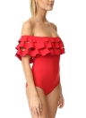 Costume da bagno intero da donna sexy con spalle scoperte