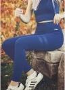 Женские поножи Высокие талии Спортивные штаны