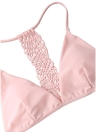 Woven Racerback High Cut Women Triangle Bikini Set