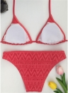 Halter Bandage Wireless Sexy Frauen Bikini Set