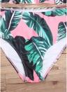Mulheres Floral Printed Bikini Set Swimsuit Swimwear Underwire Padded Beach Wear
