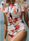 Monokini Body One con scollo a fiori