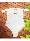 Costume da bagno intero donna Totem Stampa Costume da bagno monokini in tinta unita