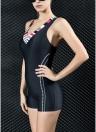 Mulheres Sports One Piece Swimsuit Professional Racing Swimwear Monokini Bathing Suit Beachwear