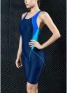 Traje de baño de las mujeres deportes traje de baño completo Breve rodilla traje de baño profesional traje de baño