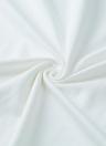 Nuova moda donna t-shirt nappa frange O collo senza maniche solido Regular Fit Casual Top t-shirt White
