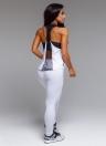 Женская спортивная йога-поножи Mesh Splice Solid Stretch Фитнес-зал Running Bodycon Pants