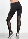 Женщины Йога Леггинсы Спортивные колготки Высокие талии сетки Вставить Бег Фитнес Тренировка брюки
