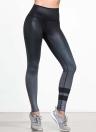 Сексуальная женская спортивная йога Slim Leggings Gradient Striped Pencil Pants Брюки