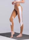 Женщины Спорт Йога Брюки Леггинсы Цвет Блок Тренажерный зал Фитнес колготки Брюки
