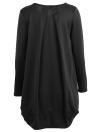 Robe mi-longue surdimensionnée pour femme