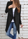 Women Waffle Knitted Bertha Cardigan Coat