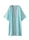 Frauen Kimono Beach Cover Up Oberbekleidung