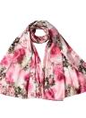 New Mulheres Moda Silk Scarf Padrão Especial de impressão longo xaile elegante Vintage macio do Cabo