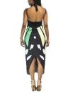 Frauen Sommer Print lange Kimono Cardigan elegante lose Strand vertuschen Outwear
