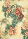 Donna rotonda Beach Tapestry stampa floreale Beach tiro coperta asciugamano Cover Up stuoia di picnic Scarf Beachwear