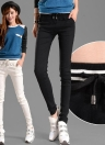 Casual Elastic Waist Drawstring Slim Pencil Sports Pants