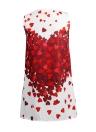 Bohemian Love Heart Print Mini Dress