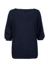 Новая мода женщины Крупногабаритные Ребро вязать Batwing Перемычка свитер с длинным рукавом O Шея Свободные повседневные топы Трикотаж