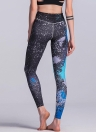 Mujeres atractivas Slim Sport Yoga Leggings especiales de impresión Skinny Pencil Pants Trousers