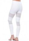 Сексуальная женская сетка Сплайсинг Спортивные поножи Йога Бегущие тощие тонкие колготки