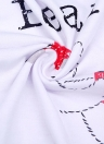Женщины Рождественская семья O-образным вырезом с длинными рукавами Pajama