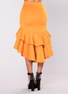 Faldas de lápiz elegantes de la capa de las mujeres Ruys