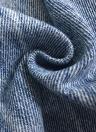 Jeans rasgados adornados con perlas de mujer Jeans destruidos deshilachados de perlas