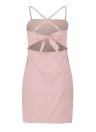 Sexy  Slim Strappy  Sleeveless Adjustable Strap Women's  Casual  Dress