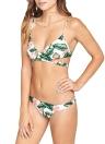 Bikini donna sexy Set foglie stampate imbottite Top Bottom Bandage Beach Swimwear Costume da bagno Costume da bagno