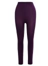 Medias calientes gruesas sólidas de las mujeres atractivas Medias leggings flacas elásticas altas
