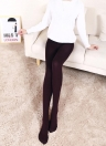Sexy Women Autumn Winter Solid High Elastic Skinny Warm Leggings