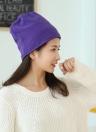Fleece New mulheres homens unisex Hat Cap Solid Color Beanie Quente Skullcap Headwear
