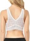Women Summer Lace Vest Bralet Bra Crop Top Sleeveless Corset Bustier Camis