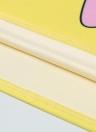 Cute Cartoon Pattern Print Color Block Sleeveless Crop Top