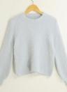 Frauen warme Winter feste beiläufige Pullover Pullover Strickwaren Pullover